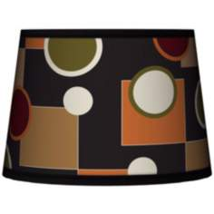 Retro Medley Tapered Lamp Shade 10x12x8 (Spider)