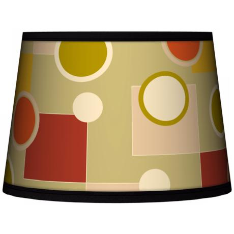 Retro Citrus Medley Tapered Lamp Shade 10x12x8 (Spider)