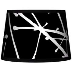 Stacy Garcia Calligraphy Tree Black Tapered 10x12x8 (Spider)