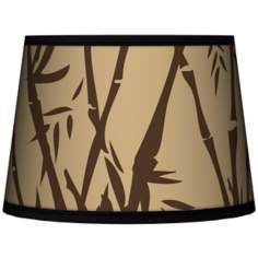Earth Bamboo Tapered Lamp Shade 10x12x8 (Spider)