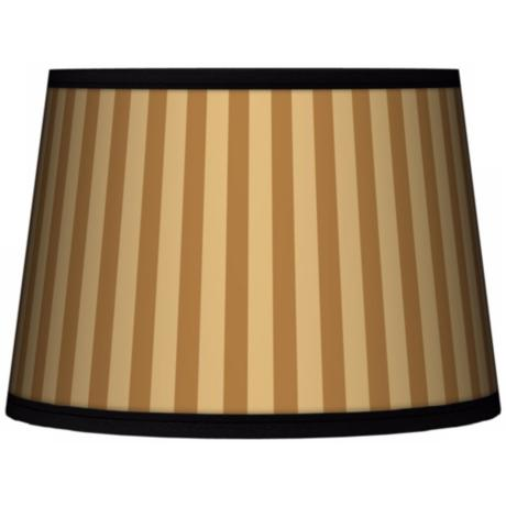 Butterscotch Vertical Tapered Lamp Shade 10x12x8 (Spider)