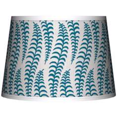 Stacy Garcia Fancy Fern Peacock Tapered Shade 10x12x8 (Spider)