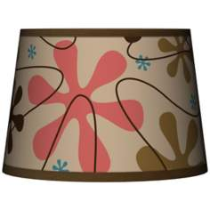 Retro Tapered Lamp Shade 10x12x8 (Spider)