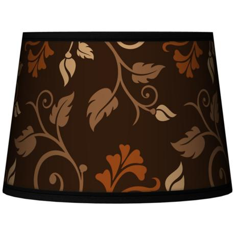 Foliage Tapered Lamp Shade 10x12x8 (Spider)