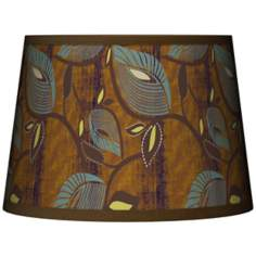 Stacy Garcia Theatric Vine Peacock  Lamp Shade 10x12x8 (Spider)