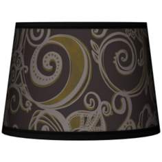 Stacy Garcia Ornament Metal Tapered Lamp Shade 10x12x8 (Spider)