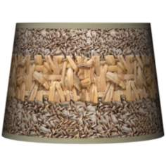 Woven Fundamentals Tapered Lamp Shade 10x12x8 (Spider)