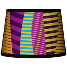 Mambo Tapered Lamp Shade 10x12x8 (Spider)
