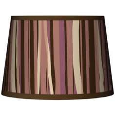 Kalahari Lines Tapered Lamp Shade 10x12x8 (Spider)