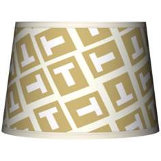 Tee Tumble Tapered Lamp Shade 10x12x8 (Spider)