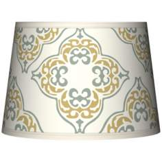 Aster Ivory Tapered Lamp Shade 10x12x8 (Spider)