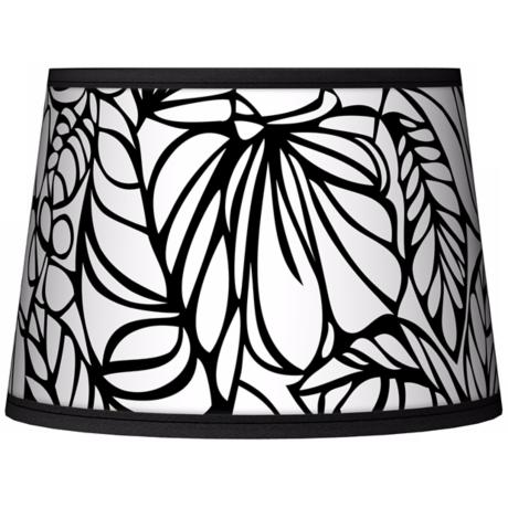 Jungle Moon Tapered Lamp Shade 10x12x8 (Spider)