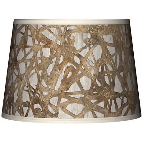 Organic Nest Tapered Lamp Shade 10x12x8 (Spider)