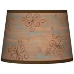 Cedar Lake Tapered Lamp Shade 10x12x8 (Spider)