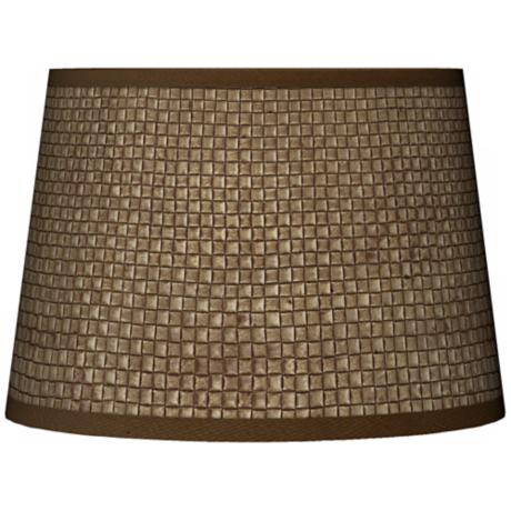 Interweave Giclee Tapered Lamp Shade 10x12x8 (Spider)