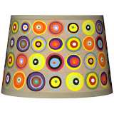 Marbles in the Park Tapered Giclee Lamp Shade 10x12x8 (Spider)