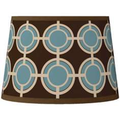 Stacy Garcia Porthole Tapered Lamp Shade 10x12x8 (Spider)
