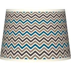 Zig Zag Tapered Lamp Shade 10x12x8 (Spider)
