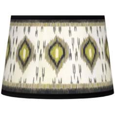 Desert Ikat Tapered Lamp Shade 10x12x8 (Spider)