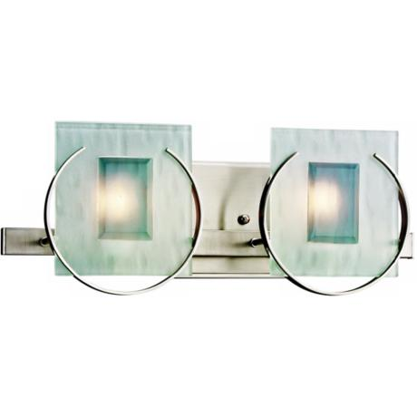 "Manitoba Collection 16"" Wide Bathroom Light Fixture"