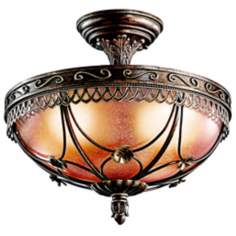 "Marchesa Collection 15"" Wide Ceiling Light Fixture"