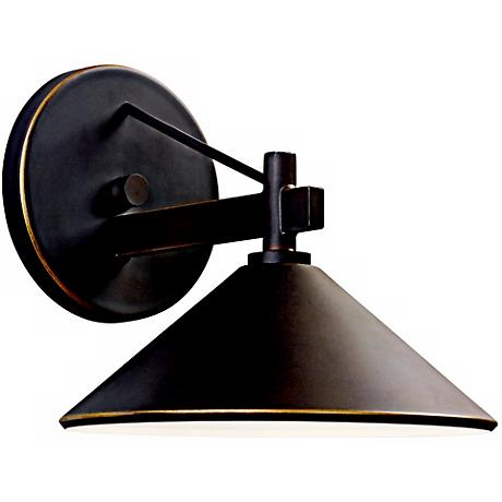"Ripley Collection 7 1/2"" High Dark Sky Outdoor Wall Light"