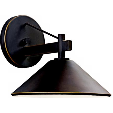 "Ripley Collection 9 1/2"" High Dark Sky Outdoor Wall Light"