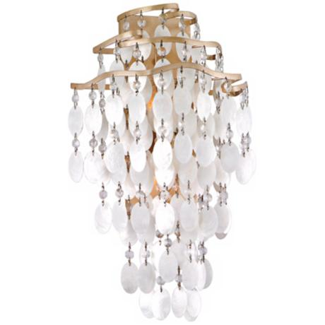 "Dolce Capiz Shell 18 1/2"" High Wall Sconce"