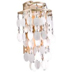 "Dolce Capiz Shell 14 1/4"" High Wall Sconce"