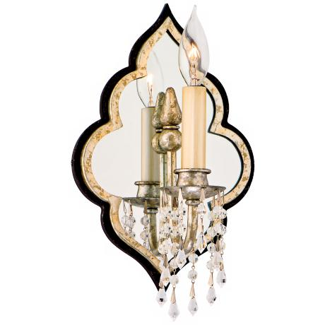 "Bijoux Crystal 11 3/4"" High Wall Sconce"