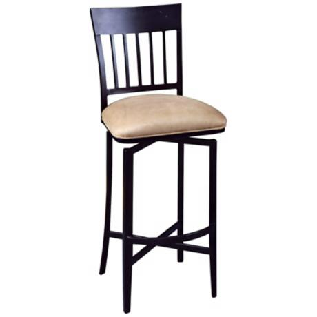 "Pastel Aspen Swivel 30"" High Bar Stool"