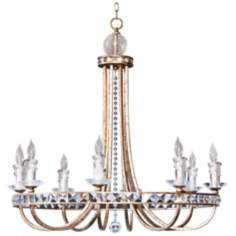 Candice Olson Aristocrat 8-Light Large Candle Chandelier