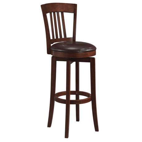 "Hillsdale Canton Swivel 30"" High Bar Stool"