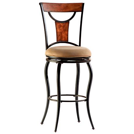"Hillsdale Pacifico Swivel 26"" High Counter Stool"