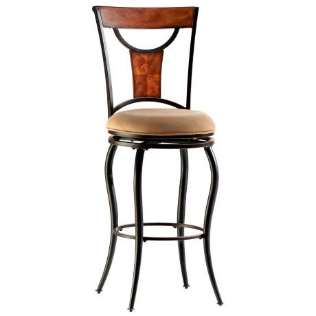 "Hillsdale Pacifico Swivel 30"" High Bar Stool"