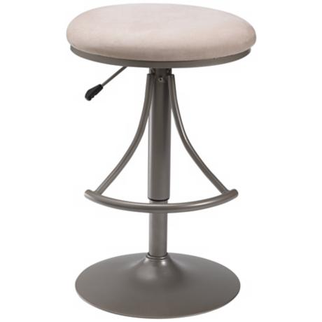 Hillsdale Venus Fawn Swivel Adjustable Bar or Counter Stool