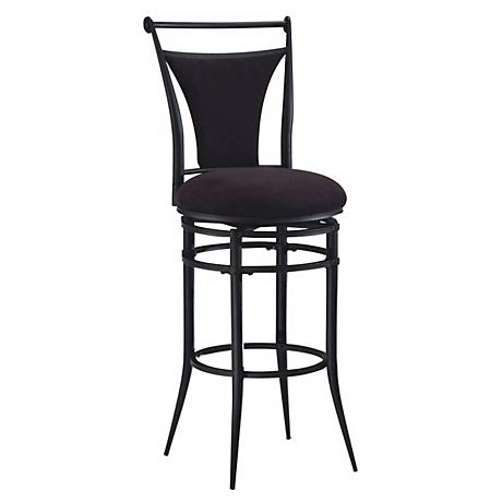 "Hillsdale Cierra Swivel 26"" High Modern Counter Stool"