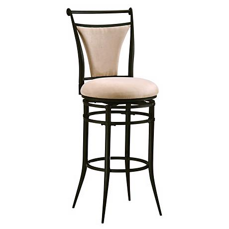 "Hillsdale Cierra Fawn 30"" Swivel  Bar Stool"