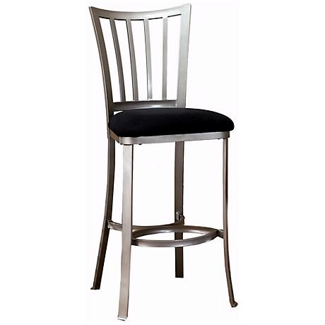 "Hillsdale Delray Pewter 26"" Counter Stool"