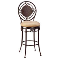 "Hillsdale Richland Armless Swivel 30"" High Bar Stool"