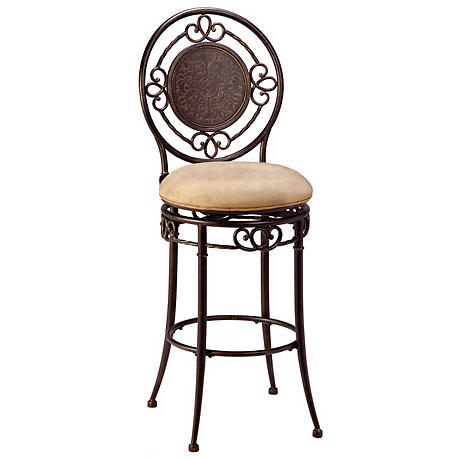 "Hillsdale Richland Armless Swivel 30"" Bar Stool"