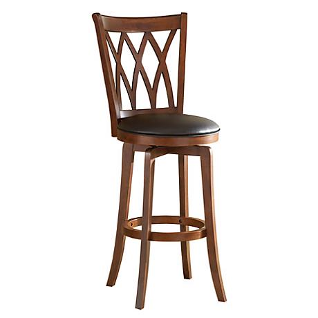 "Hillsdale Mansfield Swiveling 24"" High Counter Stool"