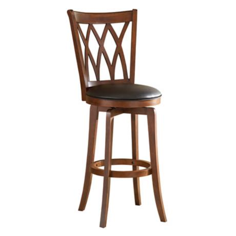 "Hillsdale Mansfield Swiveling 30"" High Bar Stool"