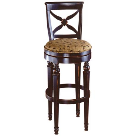 "Hillsdale Normandy Swivel 30"" High Bar Stool"