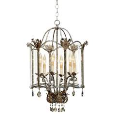 Currey and Company Zara Large Foyer Pendant