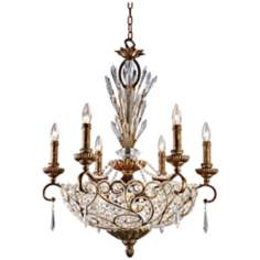 Trump Home Segovia Collection 12-Light Bowl Chandelier