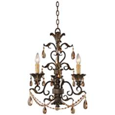 Trump Home Rochelle Collection 3-Light Chandelier