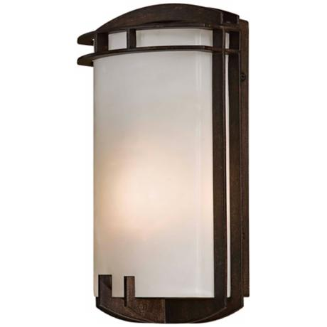 "Arch Energy Efficient 11 1/2"" High Outdoor Wall Light"