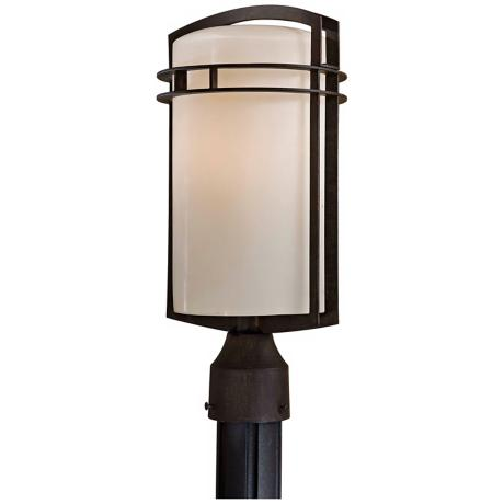 "Arch Energy Efficient 17"" High Outdoor Post Light"