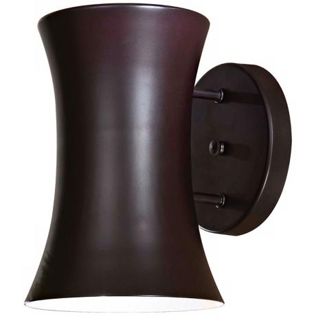 "Forio Bronze 9 1/2"" High Outdoor Wall Light"